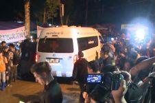 Terjebak 10 hari di gua, 12 pemain sepak bola Thailand selamat