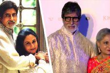 Kisah kesetiaan istri Amitabh Bachchan meski pernah diselingkuhi