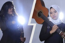 Duet gitaris cantik  ini raih penghargaan internasional, keren banget