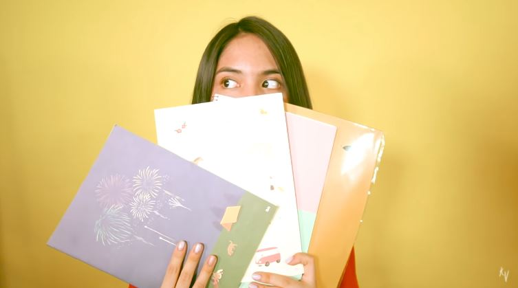keshya back to school haul © 2018 famous.id