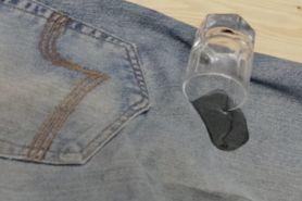 Tips simpel hilangkan noda minyak pada jeans kesayangan