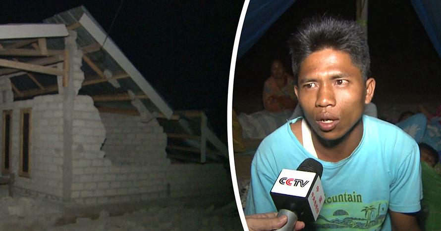 Cerita haru korban gempa NTB yang kehilangan rumah