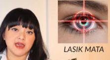 Lizzie Parra berbagi pengalamannya melakukan operasi LASIK