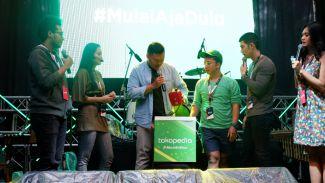 Tokopedia gandeng Bukan HHI di YouTube Fanfest Showcase Bandung 2018