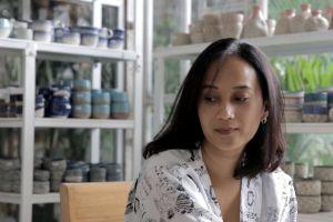 Cerita Francisca sukses kelola bisnis keramik dengan modal nol