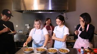 'Sleepover' episode 2: Kyra Nayda masak spaghetti sehat dan hemat!