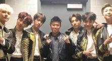 Bikin iri! Rich Brian foto bareng personel BTS usai nonton konser