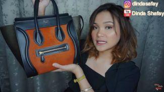 Intip isi tas YouTuber Dinda Shafay, yang bernilai hingga 158 juta!