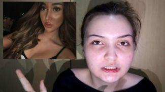 Si cantik Patrecia Nelson menirukan makeup Lucinta Luna, Mirip Nggak?