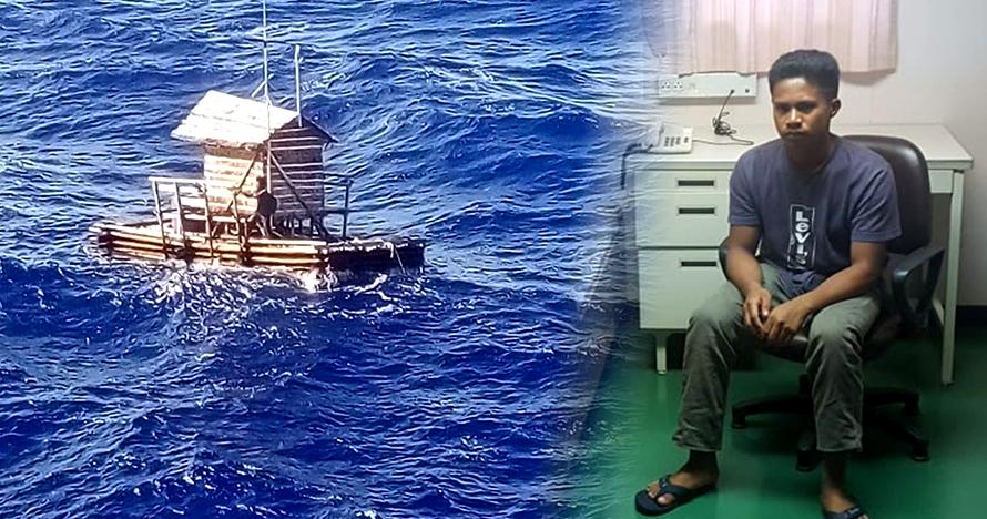 Mengharukan, ini kisah Aldi Novel 3 bulan bertahan hidup di lautan