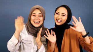 NadhilaQP cobain makeup ala Fatya Biya sampai 'pangling'!