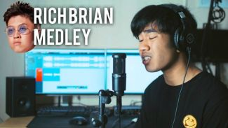 Mirip nggak? Kery Astina cover medley 6 lagu milik Rich Brian!