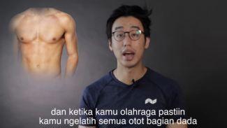 4 tips ampuh menghilangkan 'man boobs' untuk para cowok
