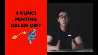Resep diet sukses! Inilah 4 kunci penting dalam menjalankan diet!