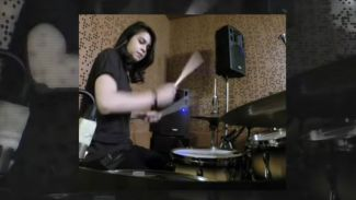 Obati kerinduan subscriber, Rani Ramadhany unggah cover drum throwback