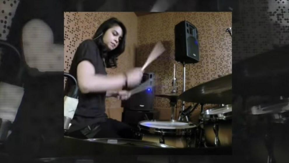 Obati kerinduan subscriber, Rani Ramadhany unggah cover drum throwback