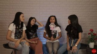 Emoji reaction challenge 'hantu Indonesia' bareng cast film 7 Bidadari