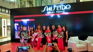 "'Beauty Reimagined Beauty Made With Soul"" mantra baru makeup SHISEIDO"