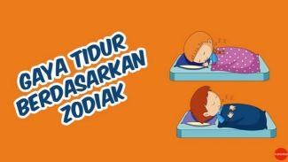 Gaya tidur berdasarkan zodiak! Yang mana gaya tidur kamu?