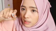 Yuny Isnaini cobain lipstik ombre instan harga affordable!