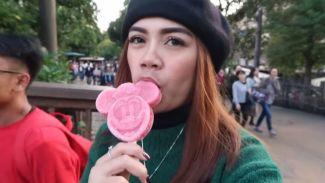 Liburan seru Pinkkan Marlisa berkunjung ke Disney Sea!