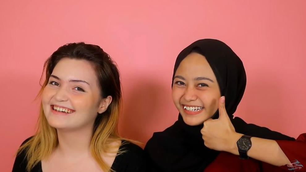 5 menit makeup challenge sambil cerdas cermat bersama Nadhila QP