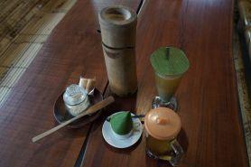 Sajian kopi unik di Jogja, gunakan bumbung sebagai pengganti termos