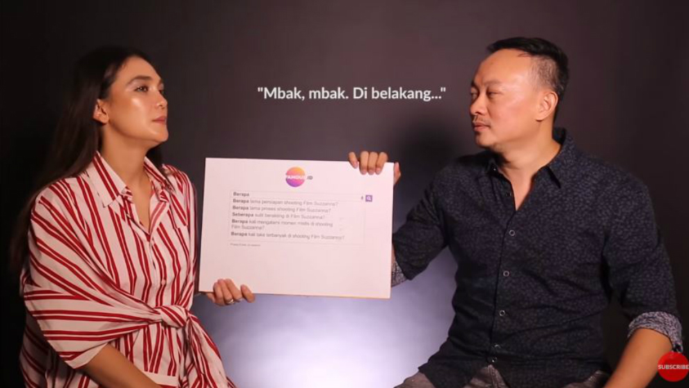 Luna Maya didatangi Sundel Bolong asli saat berperan sebagai Suzzanna