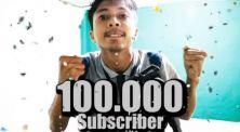 Capai 100.000 subscriber, RCHAN tepati janji cukur rambut sampai botak