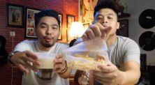 Ternyata enak?! Crack An Egg cobain kentang goreng campur sop durian!