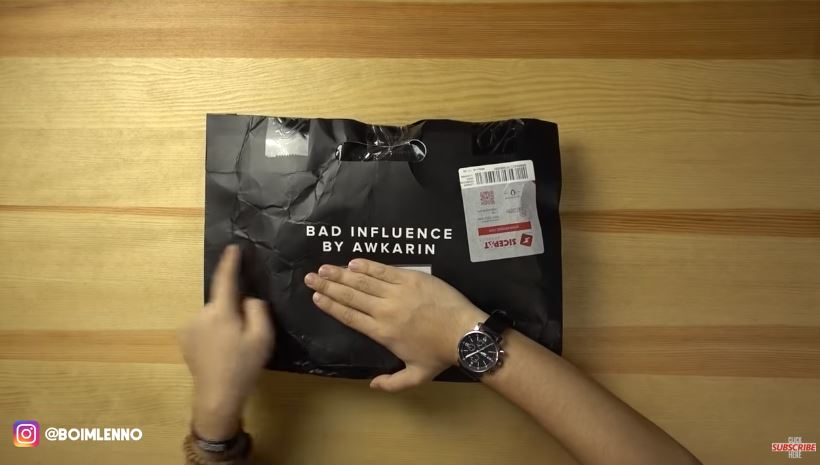 REVIEW BAD INFLUENCE BY AWKARIN YANG SUDAH TIDAK BAD © 2018 famous.id