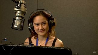 Salshabilla Adriani cobain dubbing film 'Ralph Breaks the Internet'