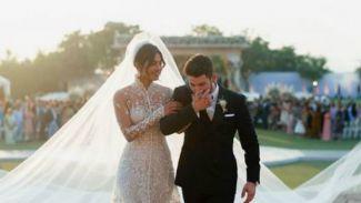 Potret mewahnya pernikahan  Priyanka Chopra dan Nick Jonas!