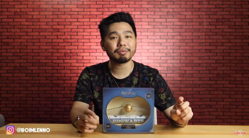 GOKIL! BISA TERBANG BENERAN! MYSTERY FLYING SNITCH REVIEW © 2018 famous.id