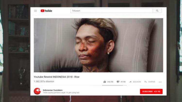 Tutorial Cara Editing Transisi Youtube Rewind Indonesia 2018