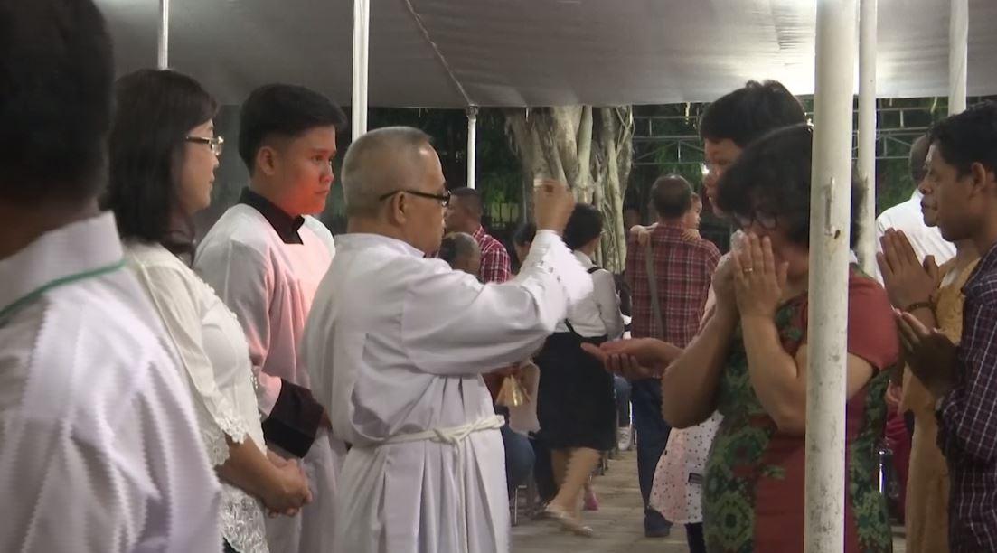Duka cita perayaan Natal di wilayah tsunami