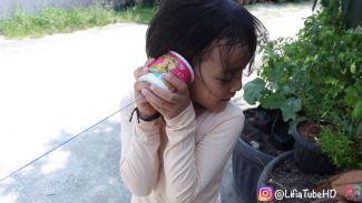 DIY mainan anak mudah dan murah telepon mainan ala Lifia dan Niala!