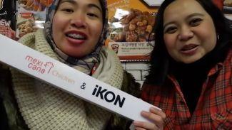 Wisata kuliner di Korea, dapat hadiah poster member iKon!