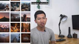 4 langkah mudah merapikan feed instagram ala Randy Rakhman