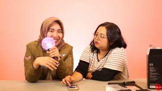 Penggemar BTS wajib nonton! Unboxing 'BTS Official Lightstik Army Bomb