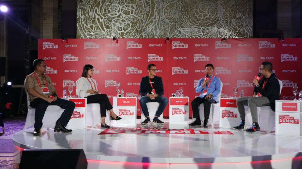 indonesia millennials summit © 2019 famous.id