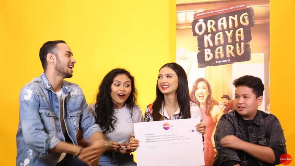 Kepoin keseruan cast 'Orang Kaya Baru' di auto complete interview!