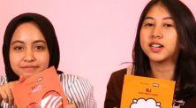 Cobain masker lucu dari Korea bersama Adzillanie Izzati dan Rana Putri
