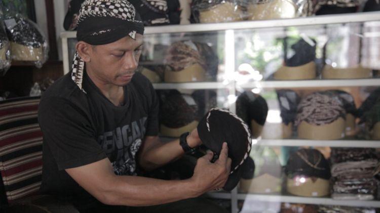 Omah blangkon dan batik Jogja, Pengrajin blangkon langganan Soeharto
