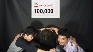 Subscriber mencapai 100 ribu, 'Son of Dad' terharu!