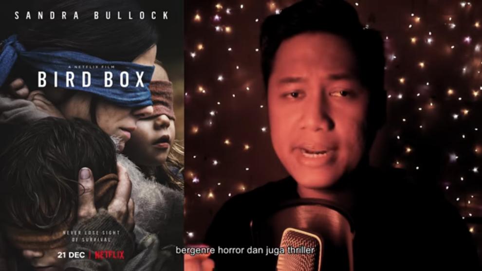 Ewing HD mencoba memecahkan asal-usul 'monster' dalam film Bird Box
