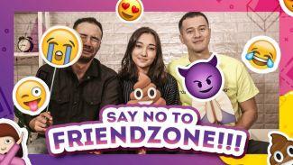 Keseruan para pemain film Antologi Rasa bermain emoji reaction!