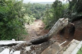 Ini kondisi terkini makam Raja Imogiri yang terkena longsor