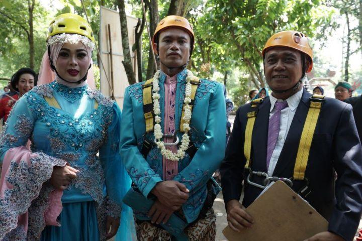 Unik, nikah massal di Yogyakarta ini nggak lazim