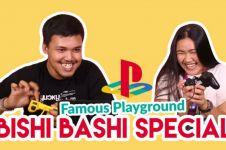 Seru banget! nostalgia main game playstation 'Bishi Bashi'